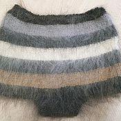 Аксессуары handmade. Livemaster - original item Down belt Down underpants Medical belt made of goat down Knitted underpants. Handmade.