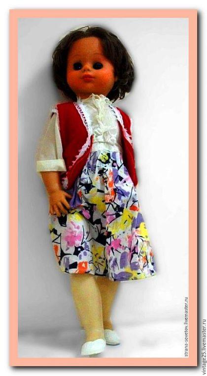 Винтажные куклы и игрушки. Ярмарка Мастеров - ручная работа. Купить СССР Большая кукла Асенька. Handmade. Комбинированный, старинная кукла