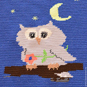 Для дома и интерьера handmade. Livemaster - original item Plaid Owl. Handmade.