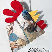 Для дома и интерьера ручной работы. Ярмарка Мастеров - ручная работа Курочка (фиксатор для двери). Handmade.