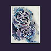 Картины и панно handmade. Livemaster - original item Painting ROSES. Handmade.