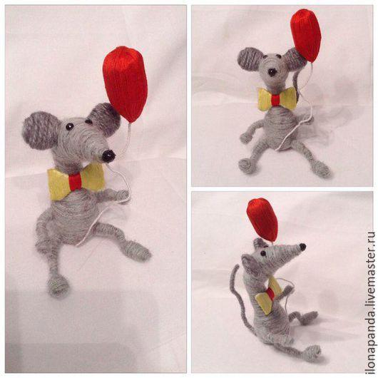 Игрушки животные, ручной работы. Ярмарка Мастеров - ручная работа. Купить Игрушка Крыса. Handmade. Игрушка ручной работы