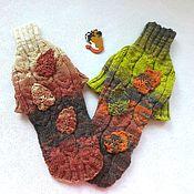 """Одежда для питомцев ручной работы. Ярмарка Мастеров - ручная работа Свитерок """"Осенний лес"""" для комнатной собачки или кошки. Handmade."""