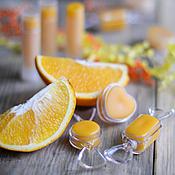 """Косметика ручной работы. Ярмарка Мастеров - ручная работа """"Сочный апельсин"""" бальзам для губ. Handmade."""