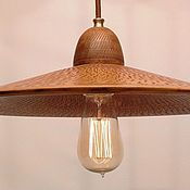 Для дома и интерьера handmade. Livemaster - original item Ceramic ceiling lamp.