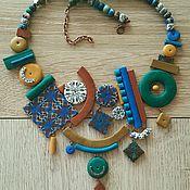 """Украшения ручной работы. Ярмарка Мастеров - ручная работа Колье """"Весна"""". Handmade."""