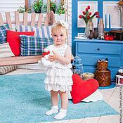 """Работы для детей, ручной работы. Ярмарка Мастеров - ручная работа Платье для девочки """"Веселый воланчик"""". Handmade."""