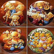 Винтаж handmade. Livemaster - original item Collection plates series