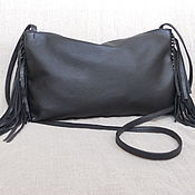 Сумки и аксессуары handmade. Livemaster - original item Bag with fringes Ref.1-322. Handmade.