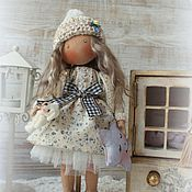 Куклы и игрушки ручной работы. Ярмарка Мастеров - ручная работа LILLY... Текстильная интерьерная кукла. Handmade.