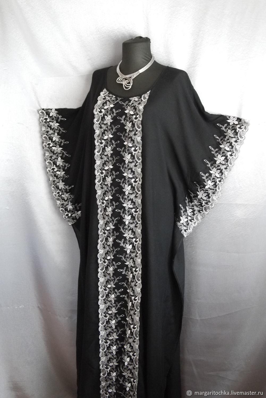 cf85bfac4c7 Купить Платье черно-белое Большие размеры ручной работы. Платье черно-белое  с кружевом.