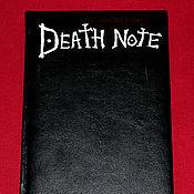 Канцелярские товары ручной работы. Ярмарка Мастеров - ручная работа Тетрадь Смерти - Death Note. Handmade.