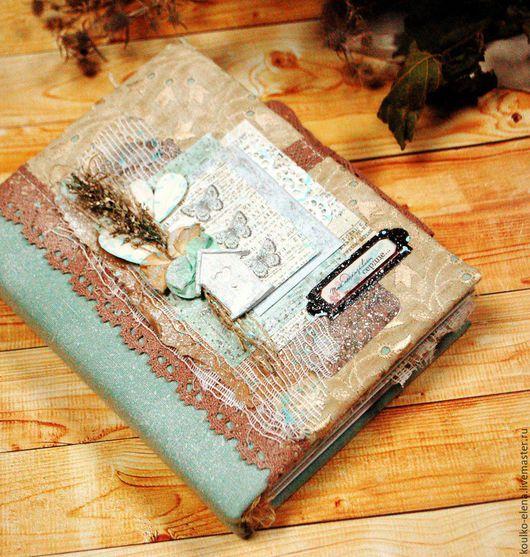 """Фотоальбомы ручной работы. Ярмарка Мастеров - ручная работа. Купить Альбом для фото """"Ботаника"""". Handmade. Комбинированный, альбом для фото"""