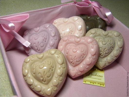 """Мыло ручной работы. Ярмарка Мастеров - ручная работа. Купить Сердце """"FOR YOU"""" - для тебя..., сувенирное мыло. Handmade. Розовый"""
