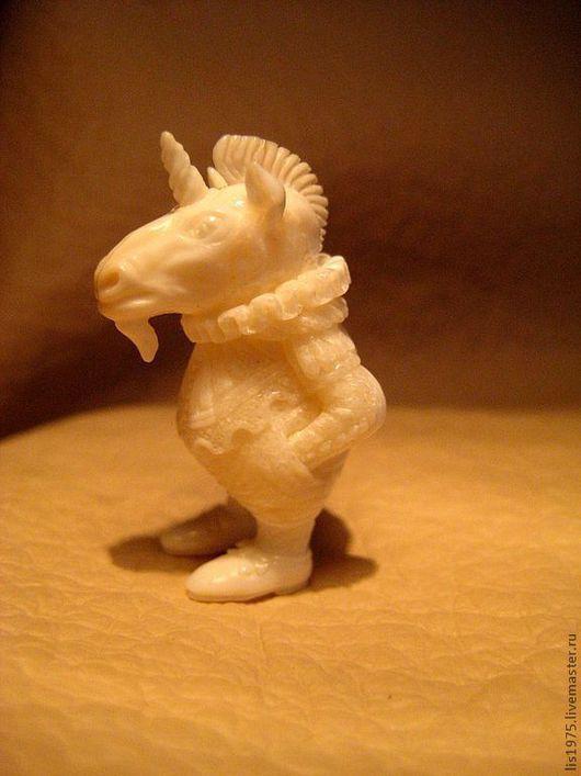 """Кулоны, подвески ручной работы. Ярмарка Мастеров - ручная работа. Купить """"Единорог"""". Handmade. Белый, миниатюра, дорогой подарок"""