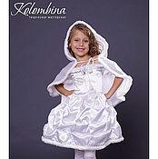 Работы для детей, ручной работы. Ярмарка Мастеров - ручная работа карнавальный костюм снежинки-46. Handmade.