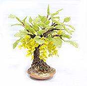 """Цветы и флористика handmade. Livemaster - original item Trees from beads """"Vanilla"""". Handmade."""
