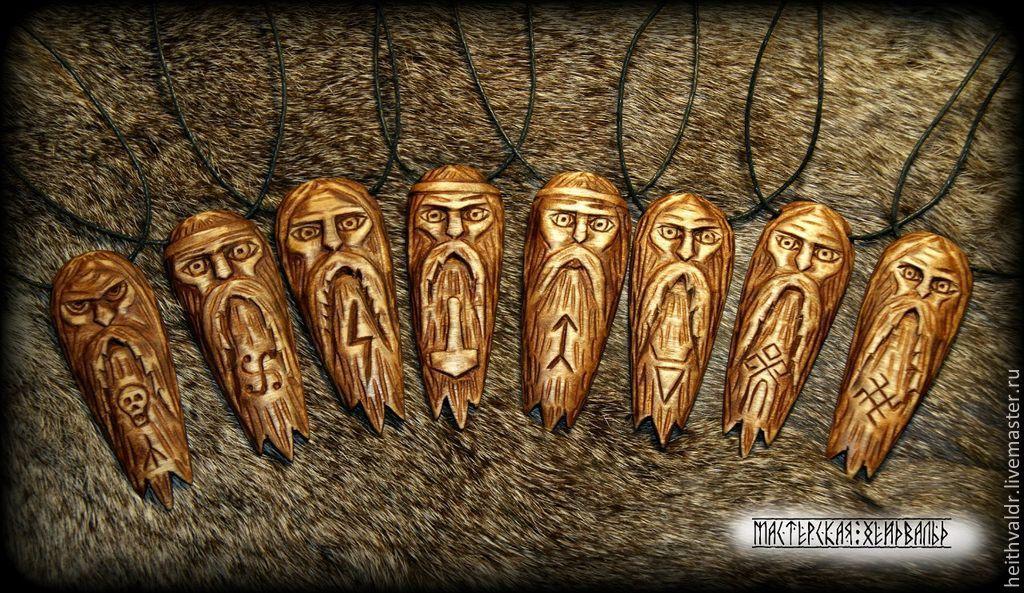 Славянские обереги из дерева фото.