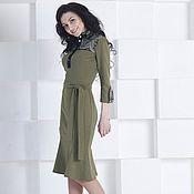 Одежда handmade. Livemaster - original item Jersey dress for each day. Handmade.