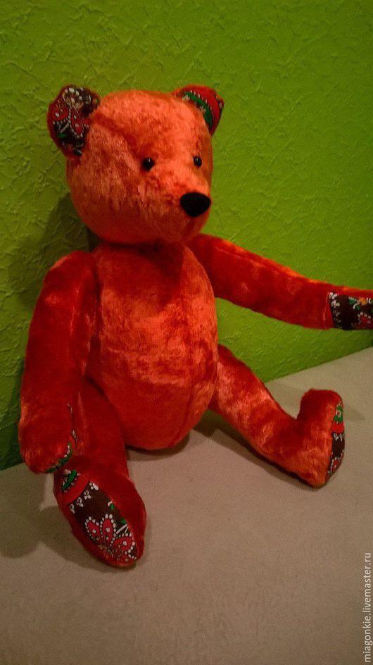 Мишки Тедди ручной работы. Ярмарка Мастеров - ручная работа. Купить Мишка. Handmade. Коралловый, синтепух гипоаллергенный