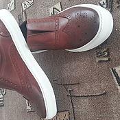 Обувь ручной работы. Ярмарка Мастеров - ручная работа Кеди-лофферы.. Handmade.