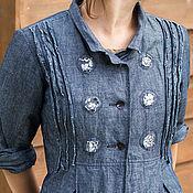 Одежда ручной работы. Ярмарка Мастеров - ручная работа Летнее пальто из хлопка. Handmade.