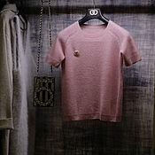 Одежда handmade. Livemaster - original item Cashmere t-shirt. Handmade.