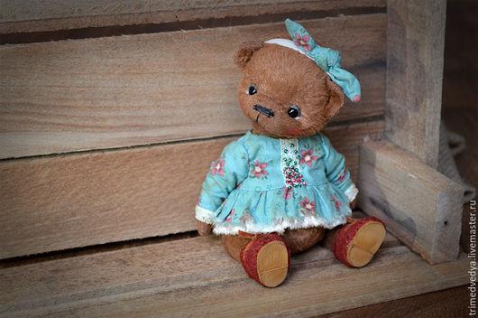 """Мишки Тедди ручной работы. Ярмарка Мастеров - ручная работа. Купить """"Мишки"""": Дуняша). Handmade. Коричневый, ручная авторская работа"""
