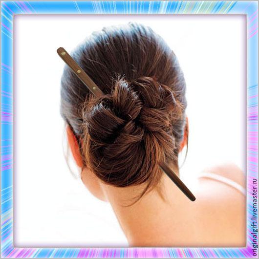 """Заколки ручной работы. Ярмарка Мастеров - ручная работа. Купить Заколка """"Кансаси"""". Handmade. Канзаси, японское оружие, украшение для волос"""