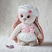 Куклы и игрушки ручной работы. Ярмарка Мастеров - ручная работа Зефирная Зайка. Handmade.