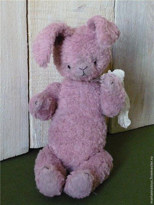 Мишки Тедди ручной работы. Ярмарка Мастеров - ручная работа. Купить зайка Bubblegum. Handmade. Розовый, тедди
