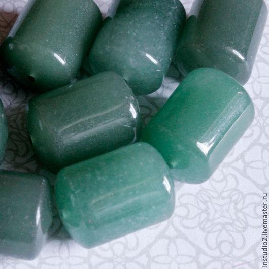 Для украшений ручной работы. Ярмарка Мастеров - ручная работа. Купить Нефрит 20 мм цилиндр бочонок - бусины камни для украшений. Handmade.
