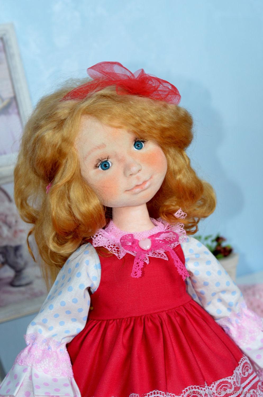 Интерьерная кукла Настя, Интерьерная кукла, Лысьва,  Фото №1