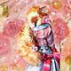 Коллекционные куклы ручной работы. Заказать Юлина. Ольга Шустова. Ярмарка Мастеров. Кукла текстильная, пуговицы декоративные