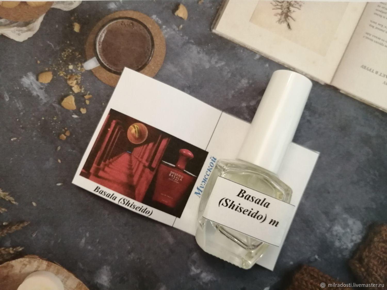 Духи ручной работы по мотивам бренда Shiseido – Basala, Духи, Москва,  Фото №1