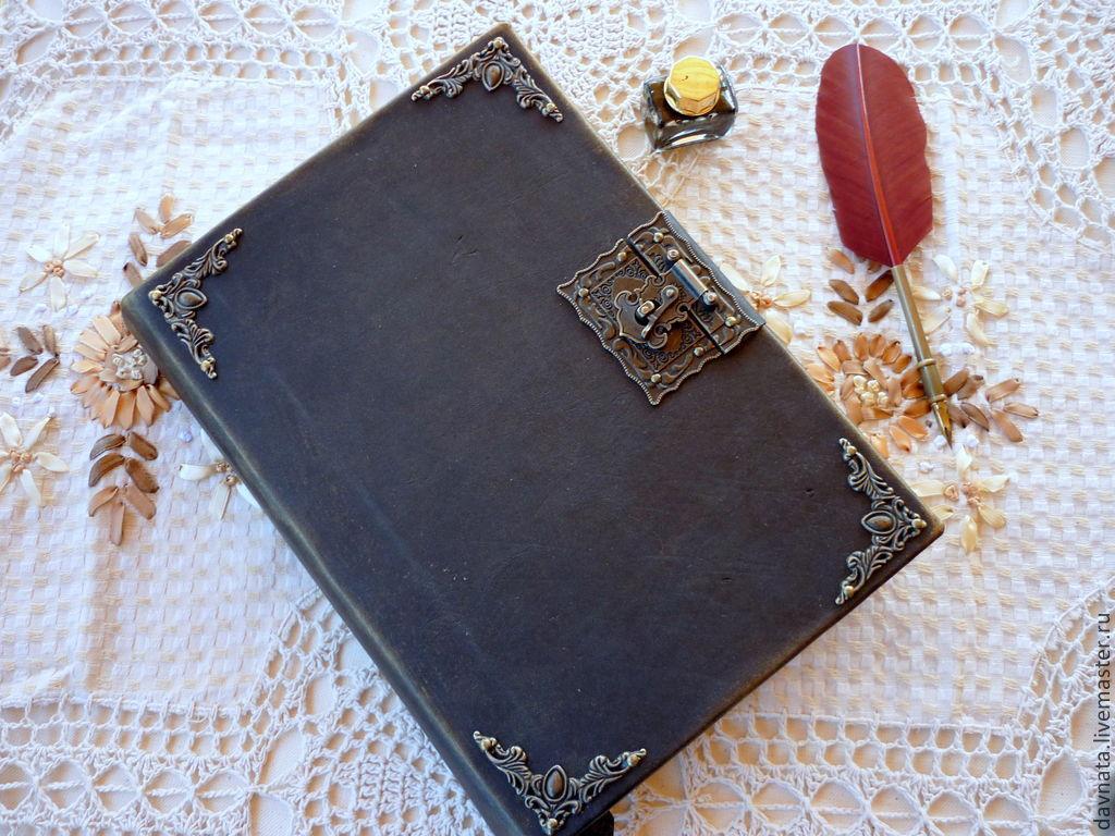 Ежедневник под старину своими руками