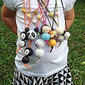Работы для детей, ручной работы. Ярмарка Мастеров - ручная работа кулончики для девочек. Handmade.