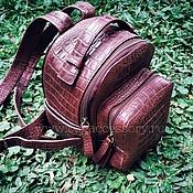 Сумки и аксессуары handmade. Livemaster - original item Backpack genuine leather. Handmade.
