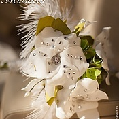 """Свадебный салон ручной работы. Ярмарка Мастеров - ручная работа Букет из фоамирана """"Великий Гэтсби"""". Handmade."""