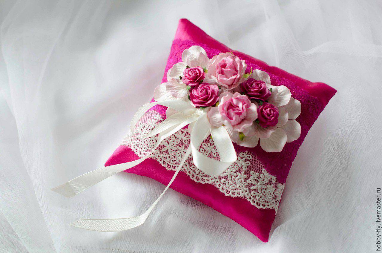 Как сшить подушечку для колец на свадьбу 429