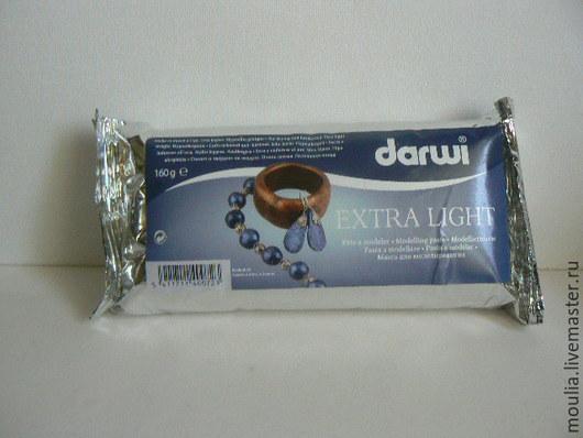 Модельная масса Darwi -Extra Light ,белая.160 гр арт 8300000   395 руб  6/0