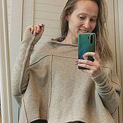 Одежда handmade. Livemaster - original item Jackets: Cashmere jacket oversize. Handmade.