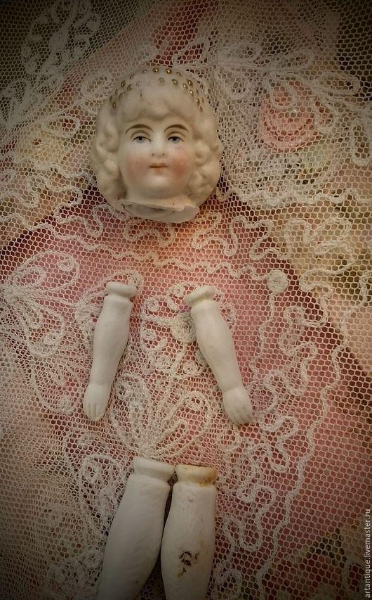 Винтажные куклы и игрушки. Ярмарка Мастеров - ручная работа. Купить Антикварный набор. Handmade. Белый, антиквариат