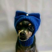 Одежда для питомцев ручной работы. Ярмарка Мастеров - ручная работа Шапка для собаки. Handmade.