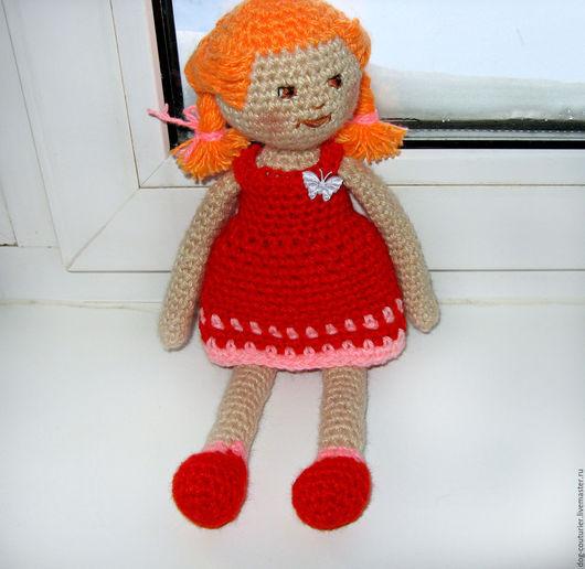 Человечки ручной работы. Ярмарка Мастеров - ручная работа. Купить Кукла Глаша вязаная. Handmade. Комбинированный, авторская кукла