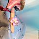 Коллекционные куклы ручной работы. Юлина. Ольга Шустова. Ярмарка Мастеров. Кукла в подарок, брадсы
