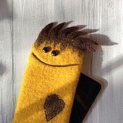 Сумки и аксессуары ручной работы. Ярмарка Мастеров - ручная работа Чехол для телефона iPhone 6 Plus желтый солнечный. Handmade.