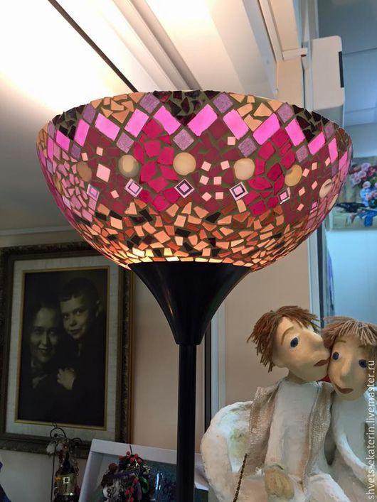 Освещение ручной работы. Ярмарка Мастеров - ручная работа. Купить торшер Розовое настроение. Handmade. Фуксия, торшер