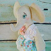 Куклы и игрушки ручной работы. Ярмарка Мастеров - ручная работа Купить куклу ручной работы.Тильда Слон.. Handmade.