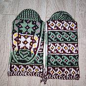 Аксессуары handmade. Livemaster - original item Jurabs 38-39p. - Kubachinsky knitted socks, gifts for the new year to mom. Handmade.